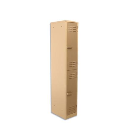 2-Tier Factory Steel Locker (bp02)
