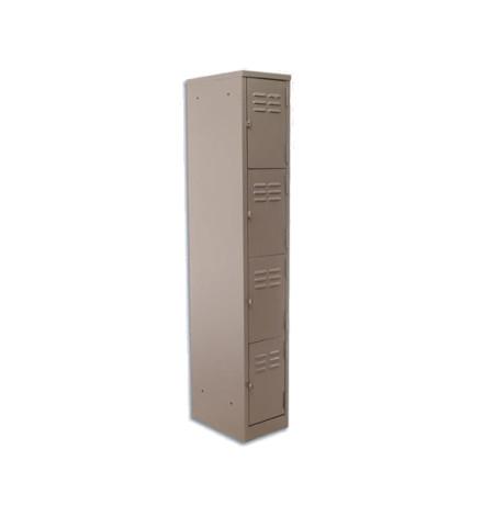 4-Tier Factory Steel Locker (bp04)