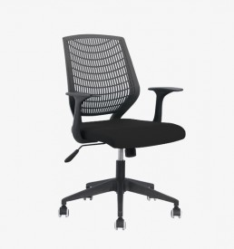 Tulip Typist Office Chair - black