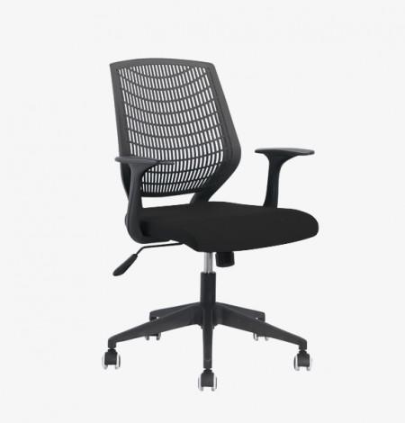 Tulip Typist Chair – black