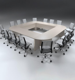 Ecoscene modular boardroom table