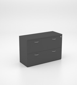 Storage - Desk Hight Filing Unit 2 Drawer 32mm