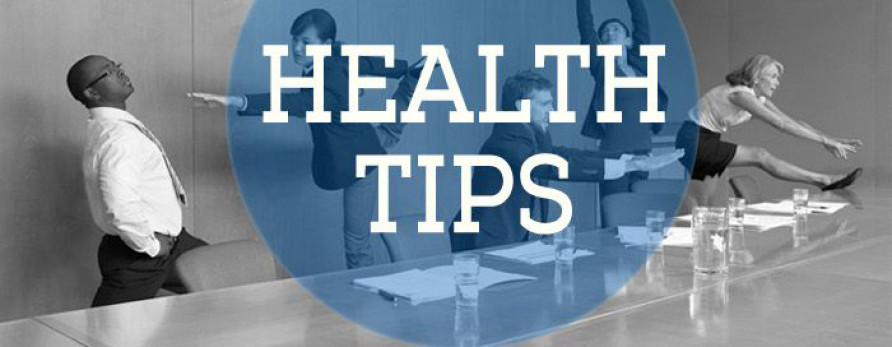 Quick and Crucial Health Tips for the Office