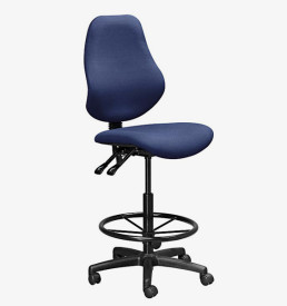 D-Man S3009 - Draughtsman Chair (blue)