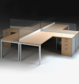 Office Workstations & Cluster Desks