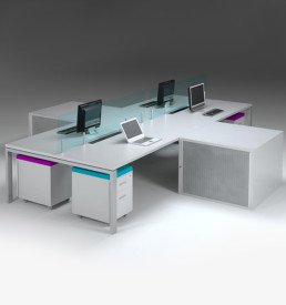 Cape town system clustser office desks
