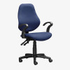 Operator S3000 Mid Back Office Chair - blue
