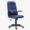 Paula High Back Office Chair - blue