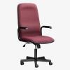 Paula High Back Office Chair - burgundy