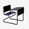 Combination Desk Black with Smart Edge