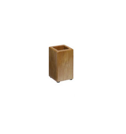 cherry wood pencil cup - Office Furniture Cape Town