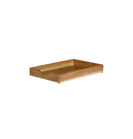 Executive Wooden Single Letter Tray (cherry)