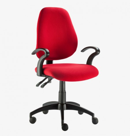 Flamingo Honeycomb Mid Back Office Chair