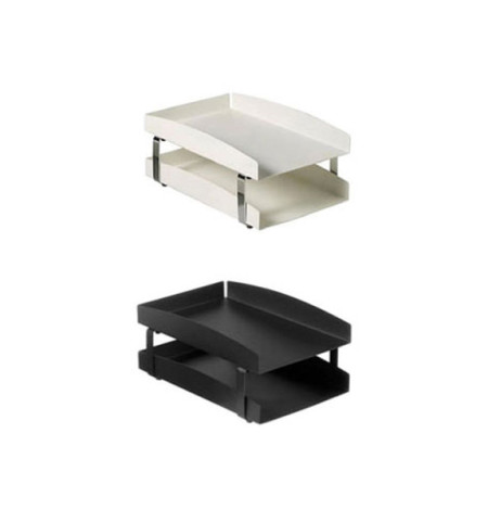 Life 2-Tier Letter Tray