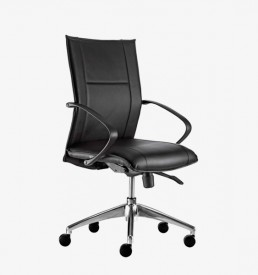 Nemesis mid black - Office Furniture Cape Town