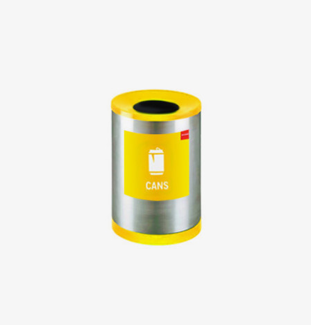 Round Recycle Bin for Cans