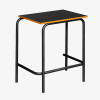 School Desk Black with Smart Edging