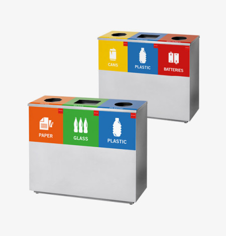 Three Division Square Recycle Bin
