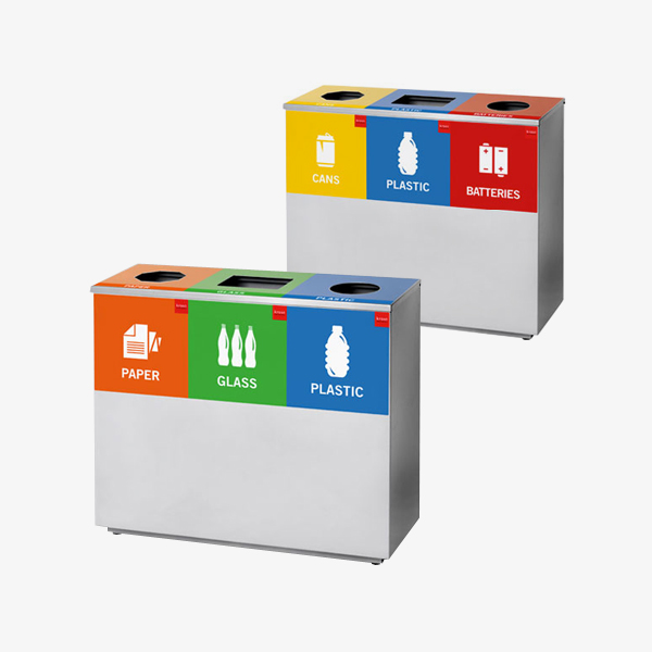 Three Division Square Recycle Bin - OfficeScene