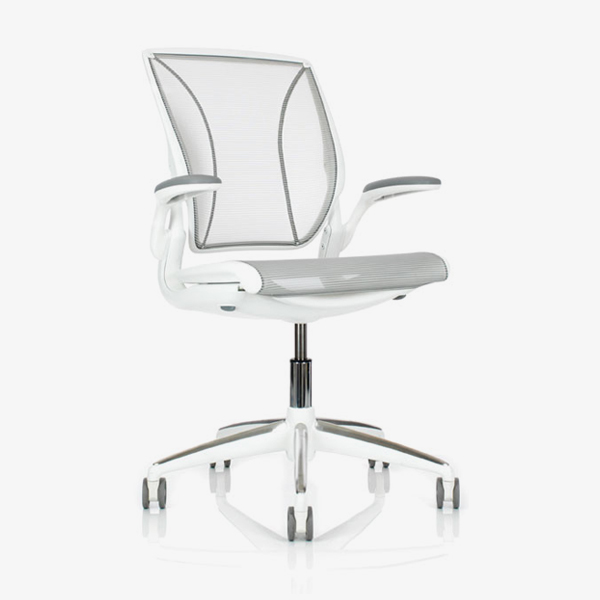 Office Furniture Cape Town - Diffrient World Executive Office Chair - white