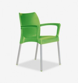 Office Furniture Cape Town - Milan Hospitality Armchair - green