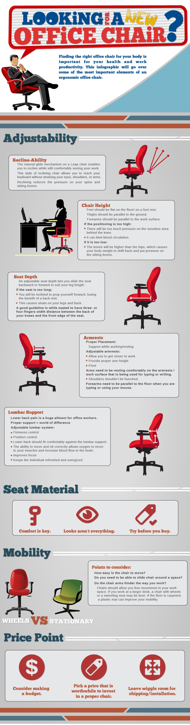 Office Chair ergonomics