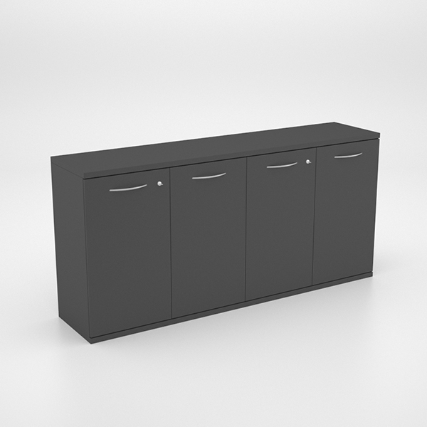 Storage - Server Unit with 4 Swing Door Cupboards 2000 x 450 x 950h