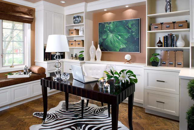 contemporary home office big corner for in design decorating