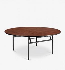 Orbit - round folding leg table