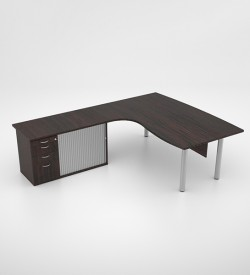 Jigsaw Executive Core Desk with Pedenza