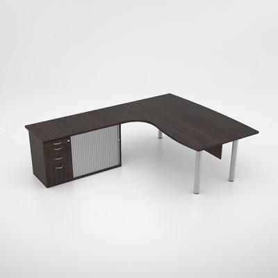 Jigsaw Executive Core Desk with Pedenza