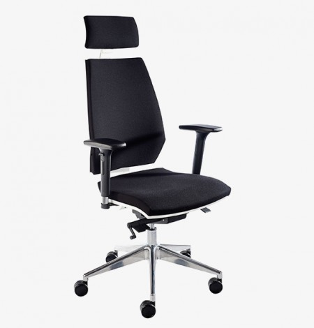 Pulse – black HB with Headrest and adjustable arms