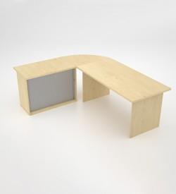 EcoScene with roller door extension - Maple