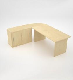 EcoScene with sliding door extension - Maple