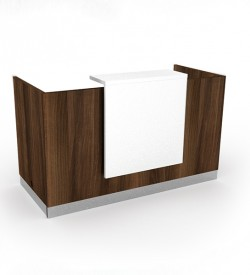 Giorgio Reception Desk - American Walnut