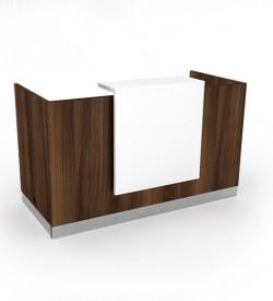 Giorgio Reception Desk - American Walnut