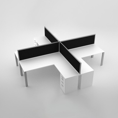Margin-Cluster-Desk-with-extension-and-pedestal