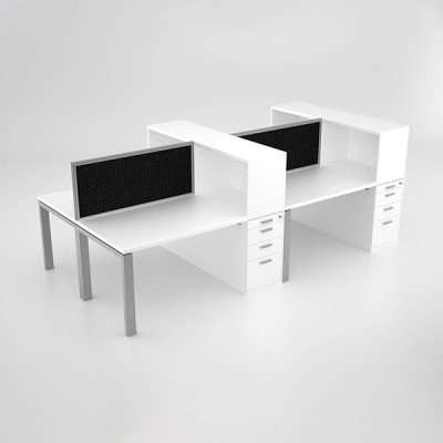 Margin-Cluster-Desk-with-open-combo-unit