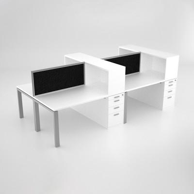Margin-Cluster-Desk-with-open-combo-unit