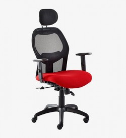 Xenon Managerial Office Chair - Red
