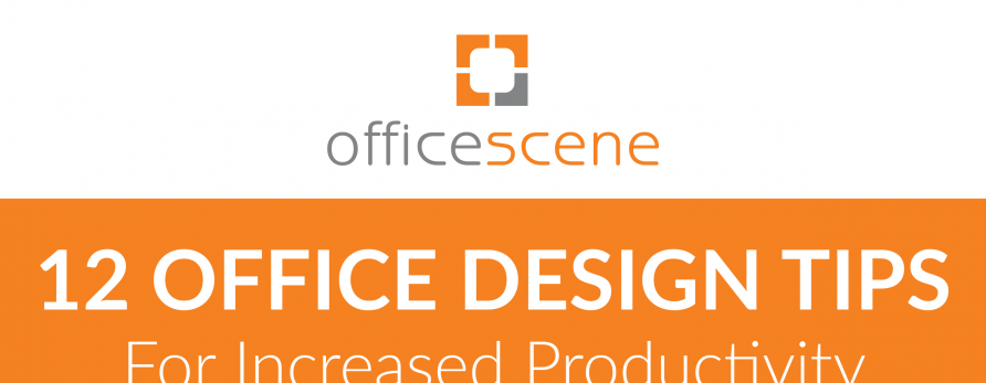 Infographic: 12 Office design Tips for Increased Productivity
