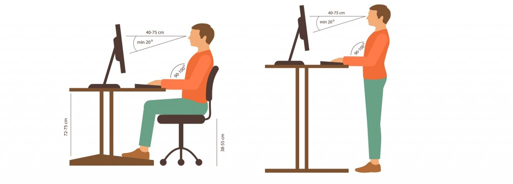 The Benefits Of Using A Height Adjustable Desk Officescene