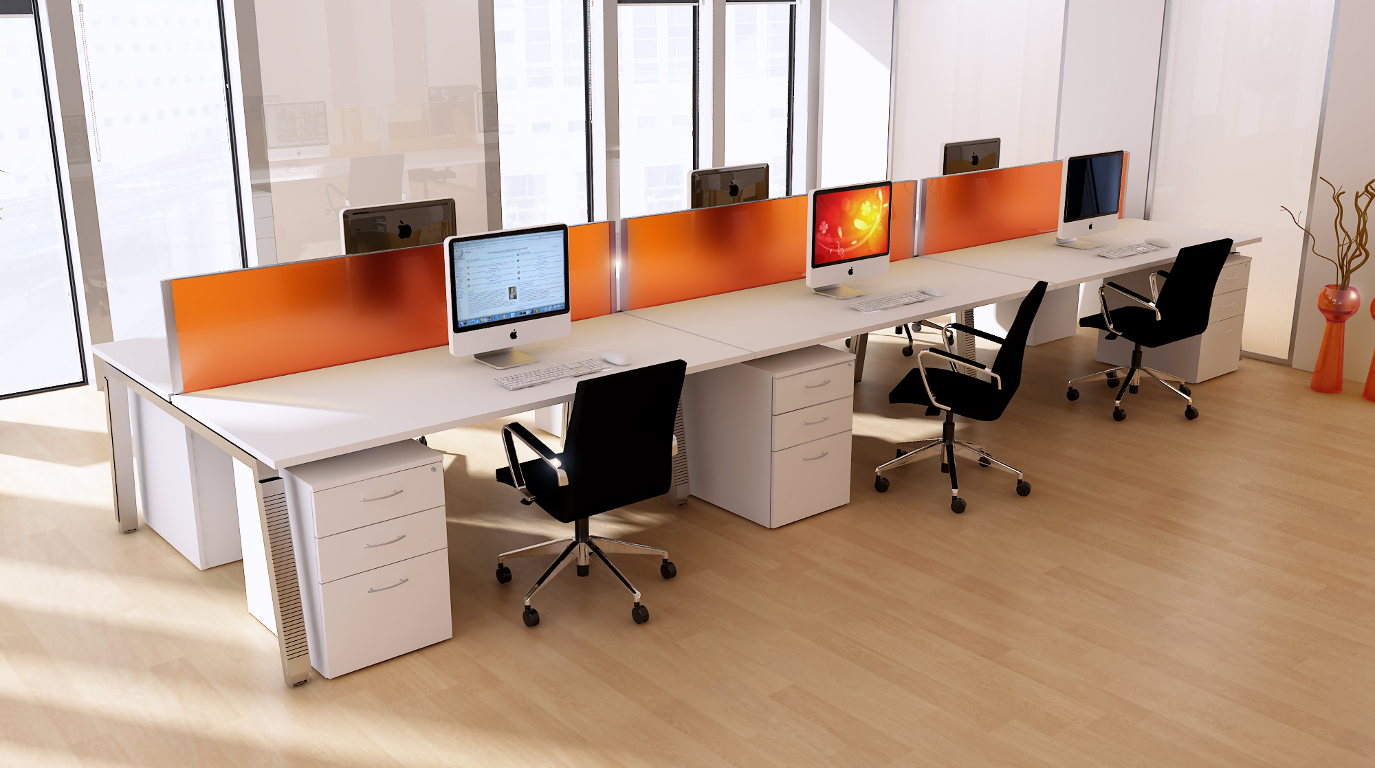 Captivating Excluding The Selection Of The Correct Office Area And In Addition The  Office Space, The Need Emerges To Pick Reasonable Office Furniture. Desk Great Ideas
