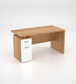 Lola Desk w Dayfiler - Harvard Cherry - back