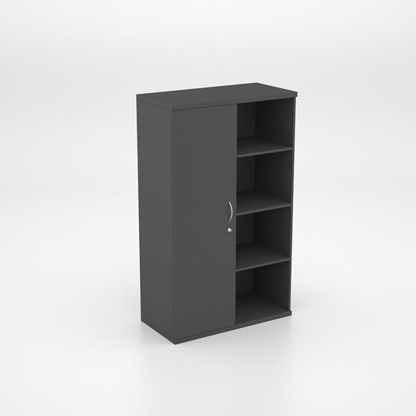 Half Swing Door Cupboard and 3 Shelves