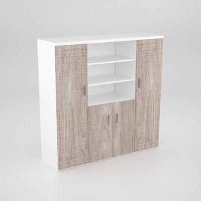 Status-Wall-Unit-with-2-Full-Cupboards-and-Center-Cupboard-and-top-Shelves