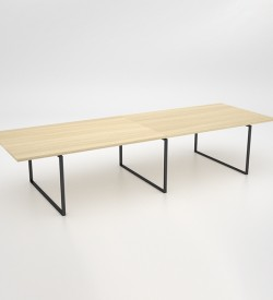 Ava Double Boardroom Table