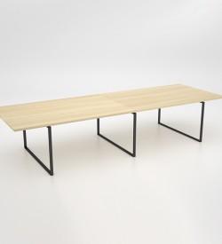 Ava Double Boardroom Table