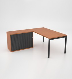 Margin 38 - Desk with Credenza