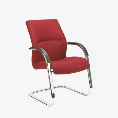 Raggio Visitors Oval Sleigh Chair
